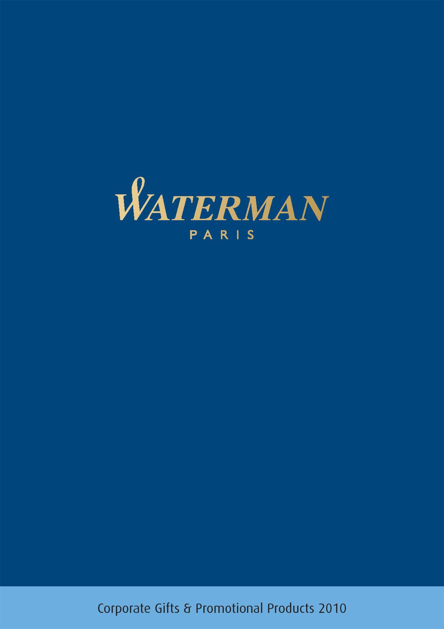 Catalog Waterman B2B 2010