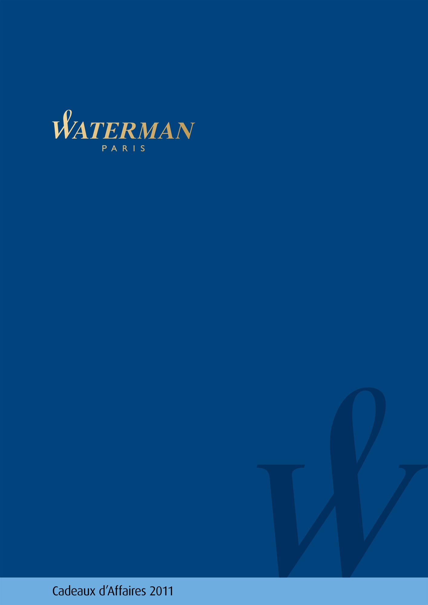 Catalog Waterman B2B 2011