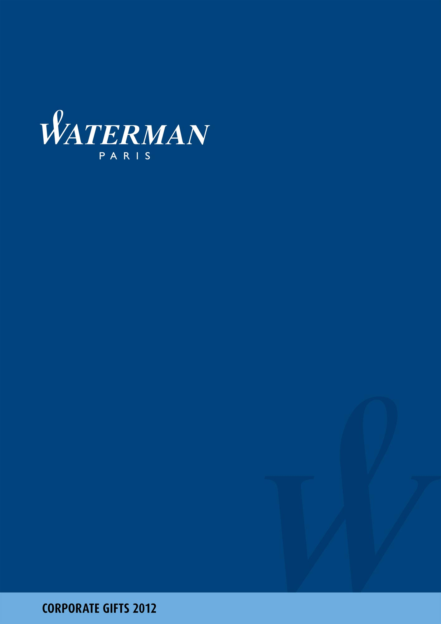 Catalog Waterman B2B 2012