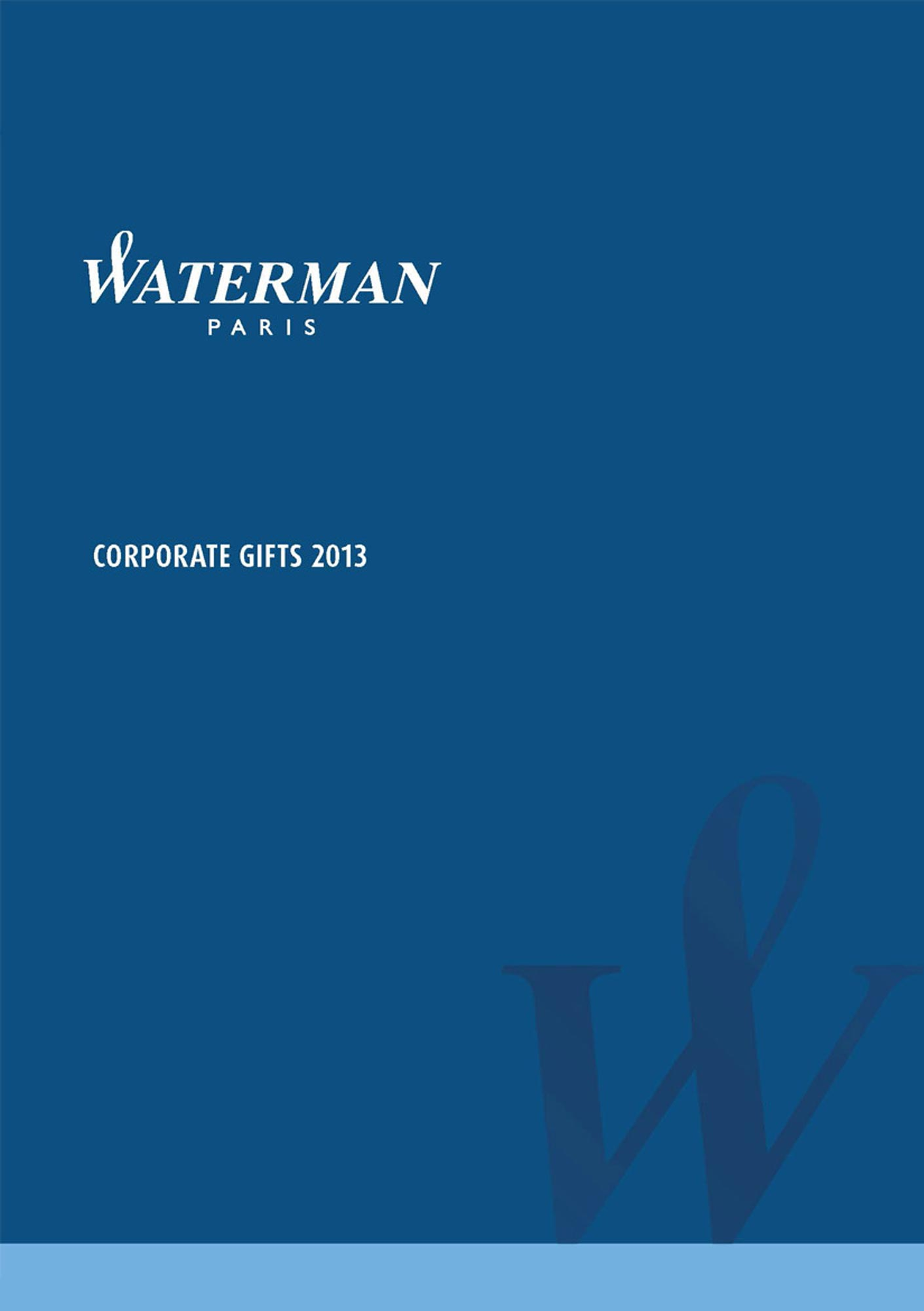 Catalog Waterman 2013 B2B